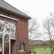 Dutch farmhouse conversion by Jeanne Dekkers Architects in Limburg