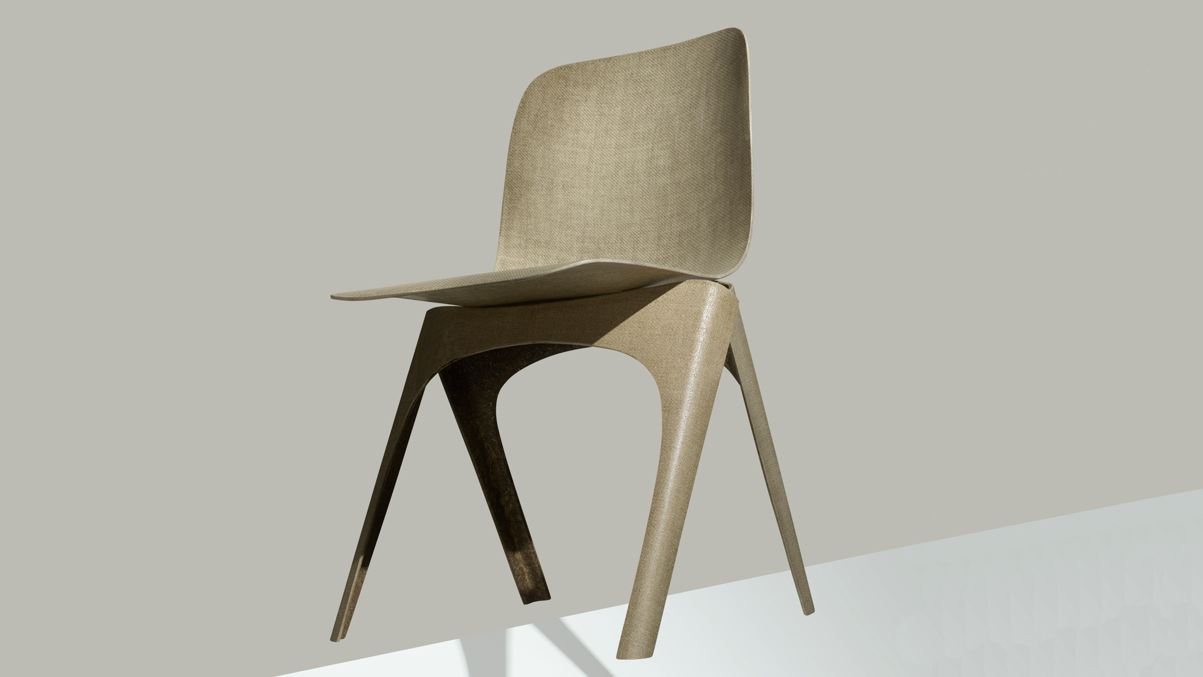 DDW: Flax chair - Christien Meindertsma