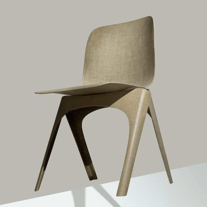DDW: Flax chair - Christien Meindertsma