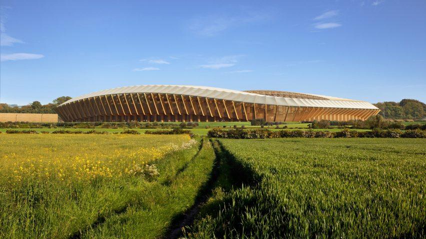 Zaha Hadid Forest Green Rovers stadium