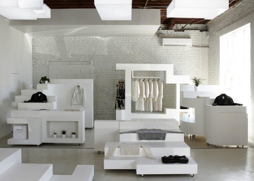 Frankie's Los Angeles boutique by Bureau Spectacular