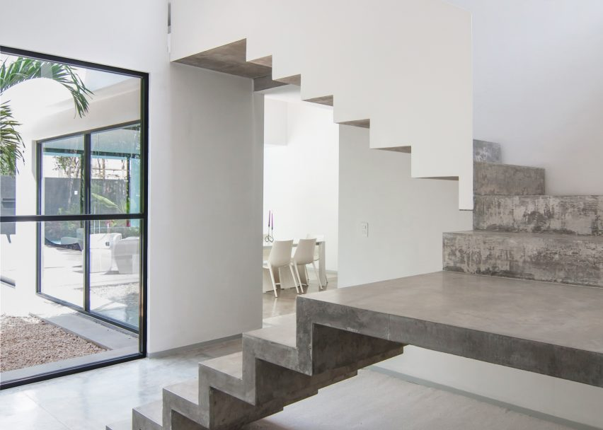 ... Garcias House By Warm Architects