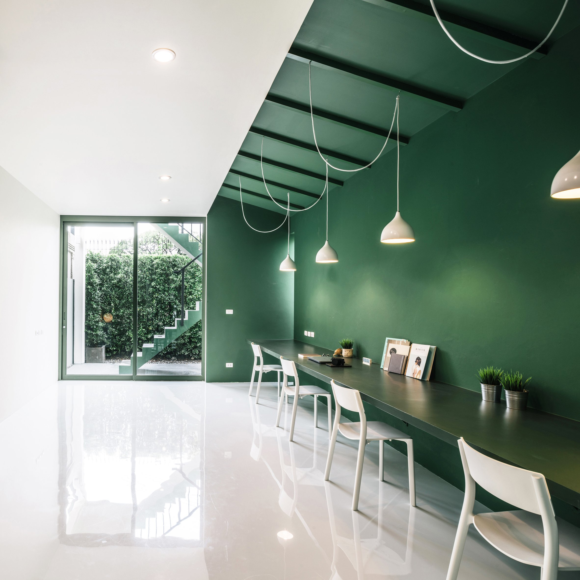 Design of office Tech Dezeen 12 Of The Best Minimalist Office Interiors Where Theres Space To Think
