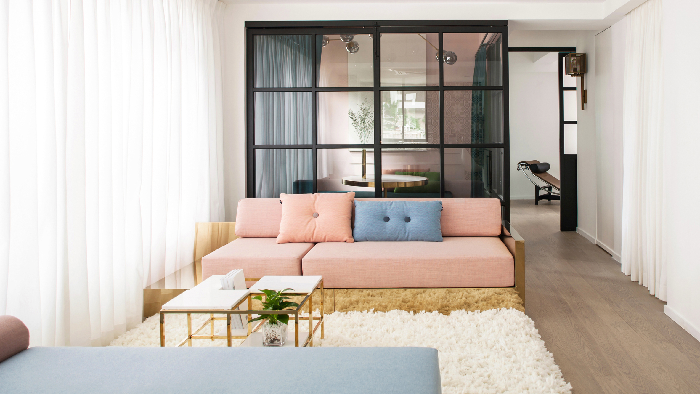 Happy Valley apartment by Lim + Lu