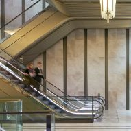 Make upgrades entrance hall of London's Harrods with 16 bronze escalators