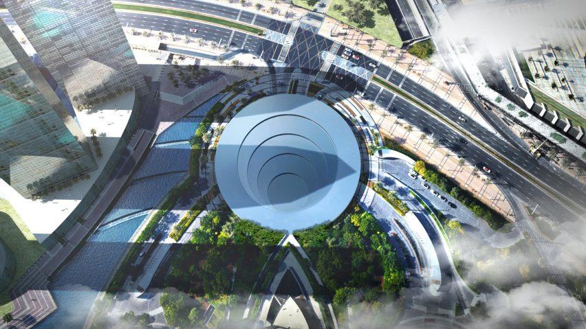 Architecture Design News big reveals pod and portal design for dubai hyperloop
