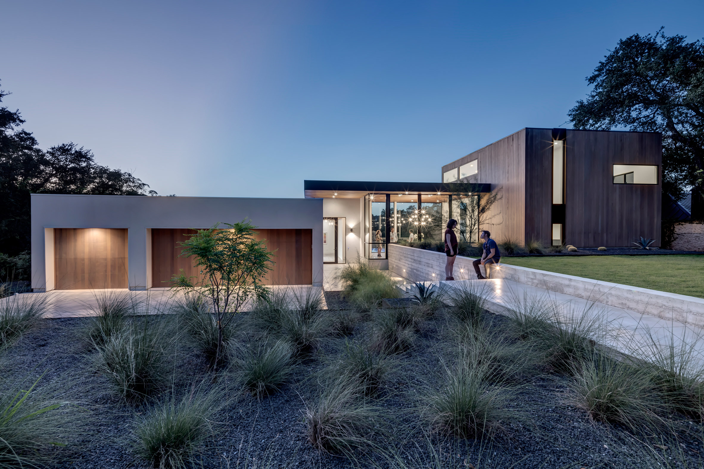 Bracketed Space House, Austin/Texas
