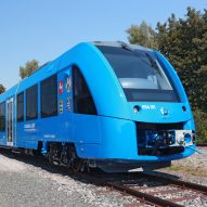 Germany welcomes world's first zero-emissions hydrogen trains