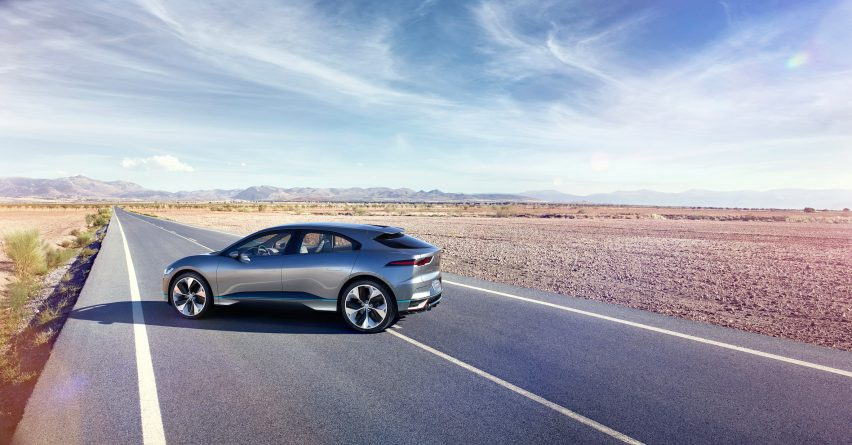 I-Pace electric car by Jaguar