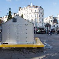 Design Museum installs Ikea Shelter