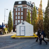 Design Museum installs IKEA refugee shelter on London streets