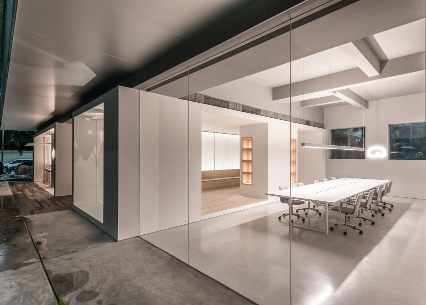 Design Of Office Building With Atelier Peter Fong By Lukstudio Of 12 The Best Minimalist Office Interiors Where Theres Space To Think