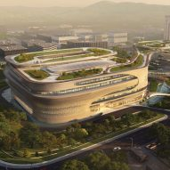 Zaha Hadid Architects reveals plans for Infinitus Plaza in Guangzhou