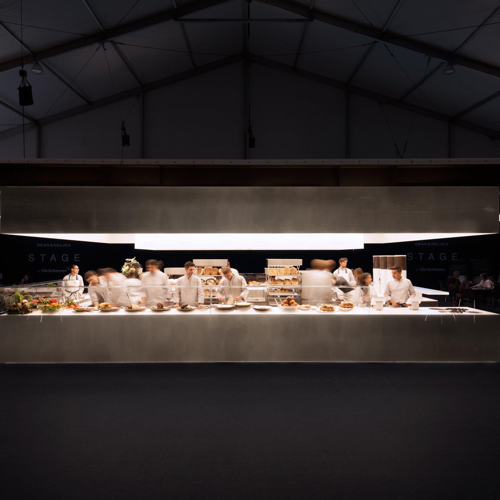 Dean U0026 DeLuca Launches Fast Food Concept Based On Ole Scheeren Kitchen  Design