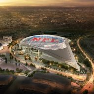 Construction begins on massive stadium for American football team LA Rams
