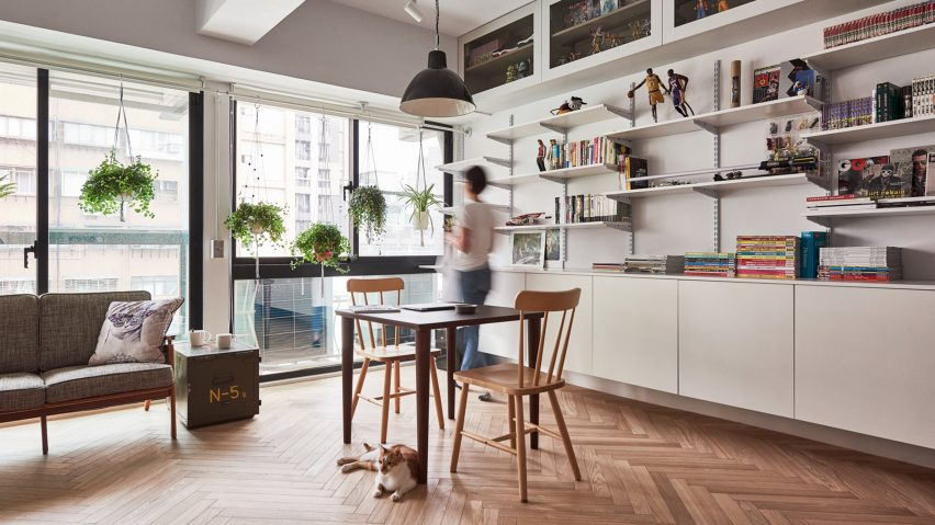 Studio Apartment Renovation taiwan apartment renovation gives owner and his cats room to play