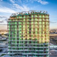 Edouard François creates plant-covered housing block to disperse seeds across Paris