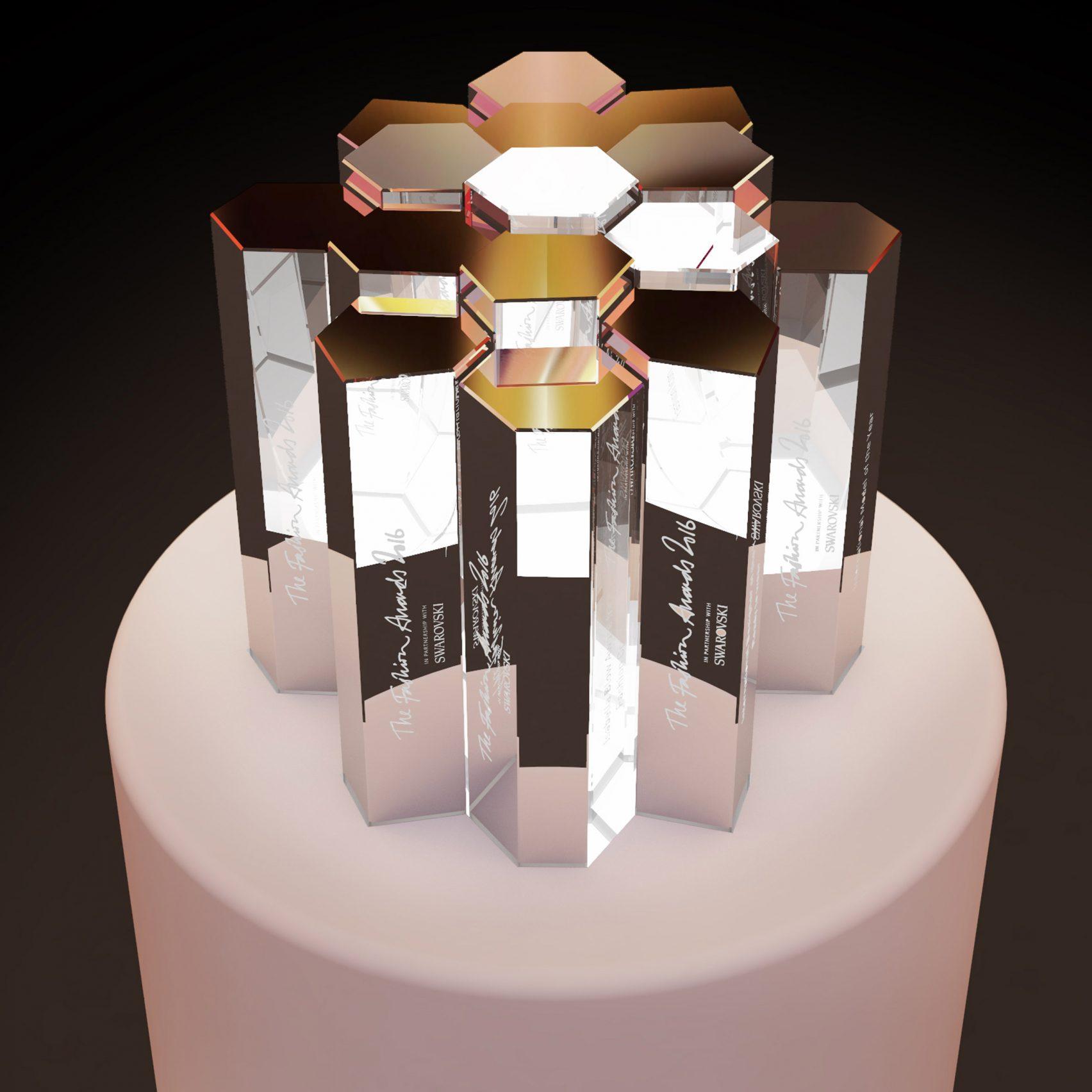 Marc Newson designs Fashion Awards 2016 trophy
