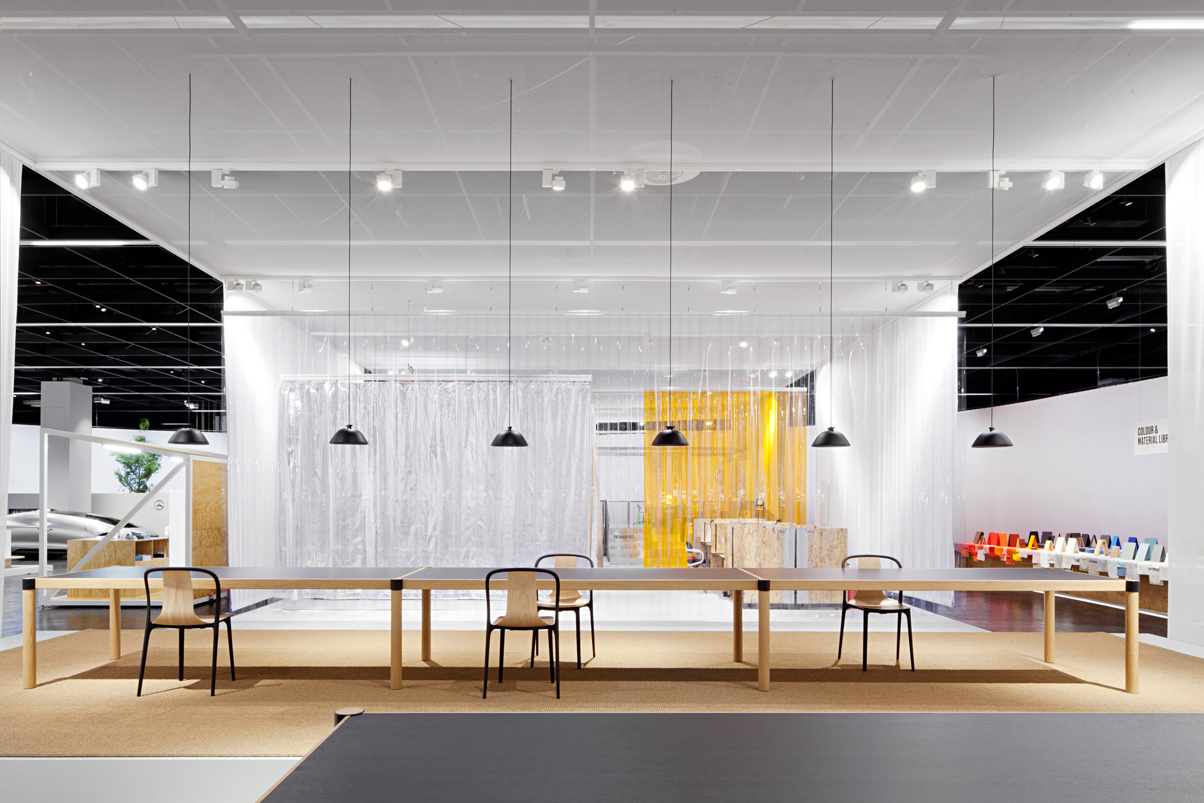 Pernilla ohrstedt explores contemporary office spaces for for Office design vitra