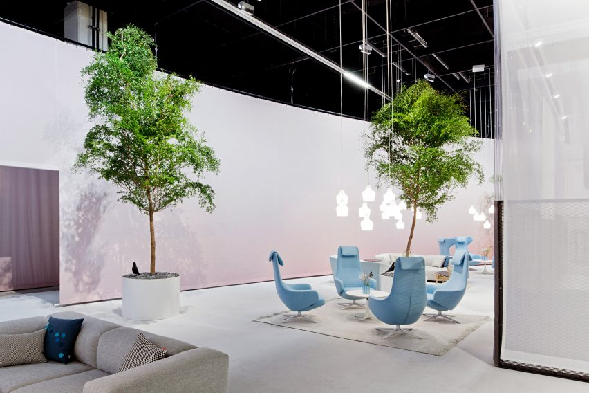 Orgatec stand by Pernilla Ohrstedt