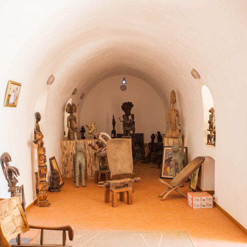 Interior of a Nubian Vault