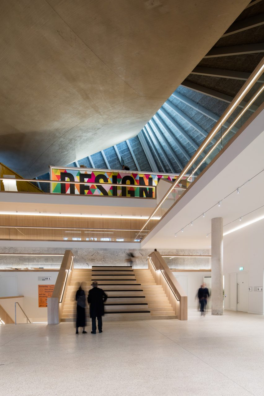 Architecture Design Museum london's new design museumoma and john pawson is set to open