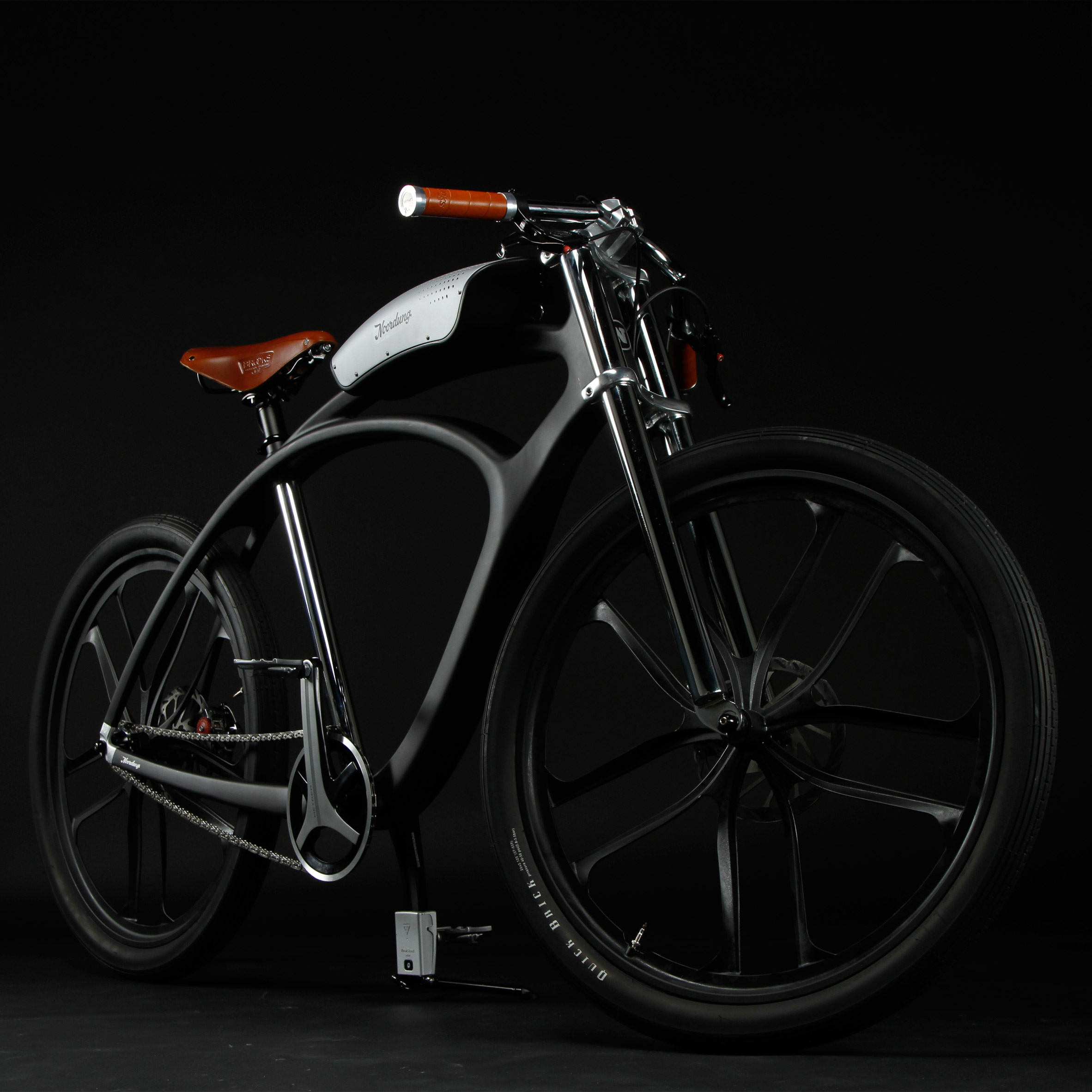Noordung's Angel Edition bike has a battery that doubles as a boombox