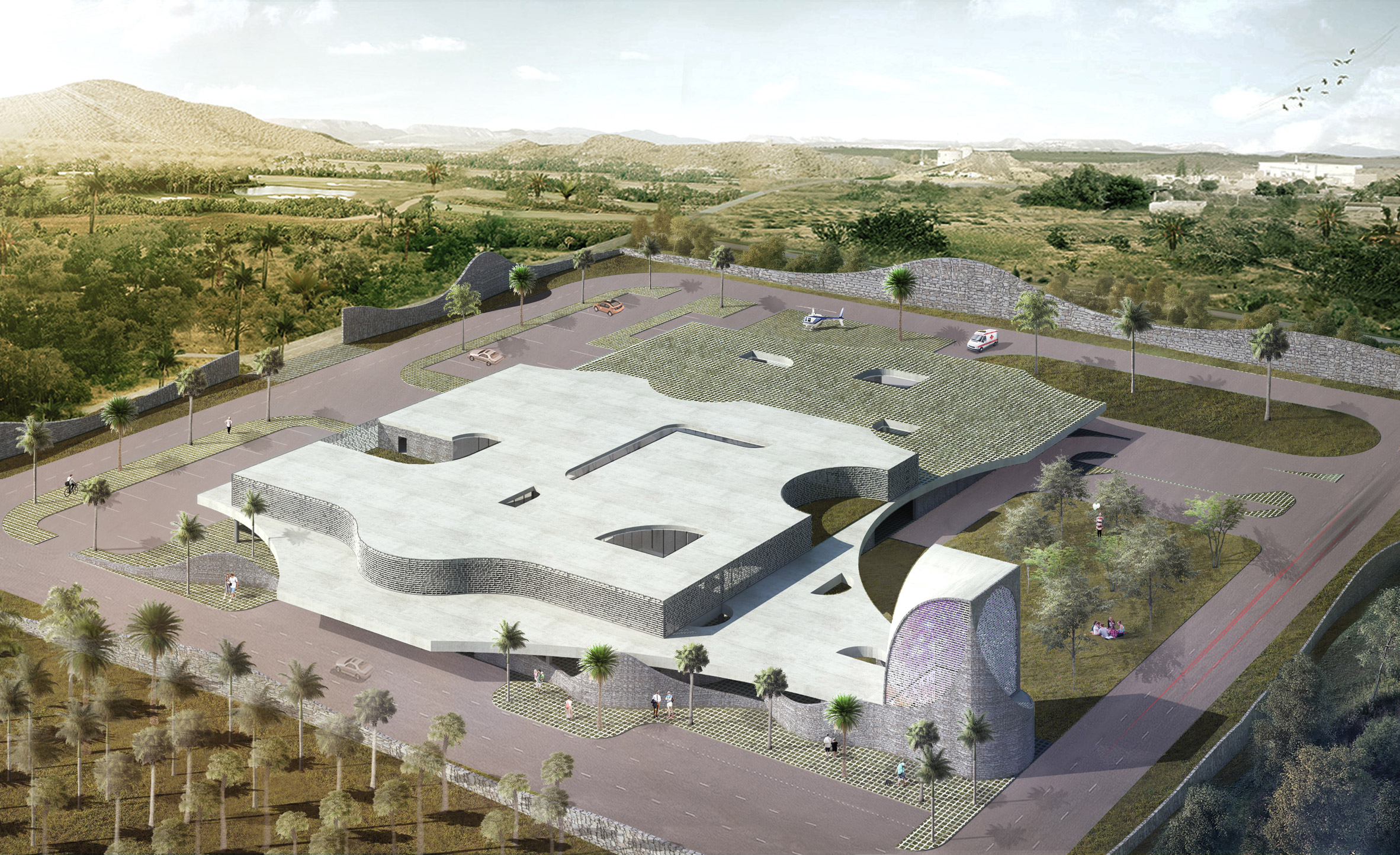 Philippines hospital designed by CAZA to serve as model for rural healthcare