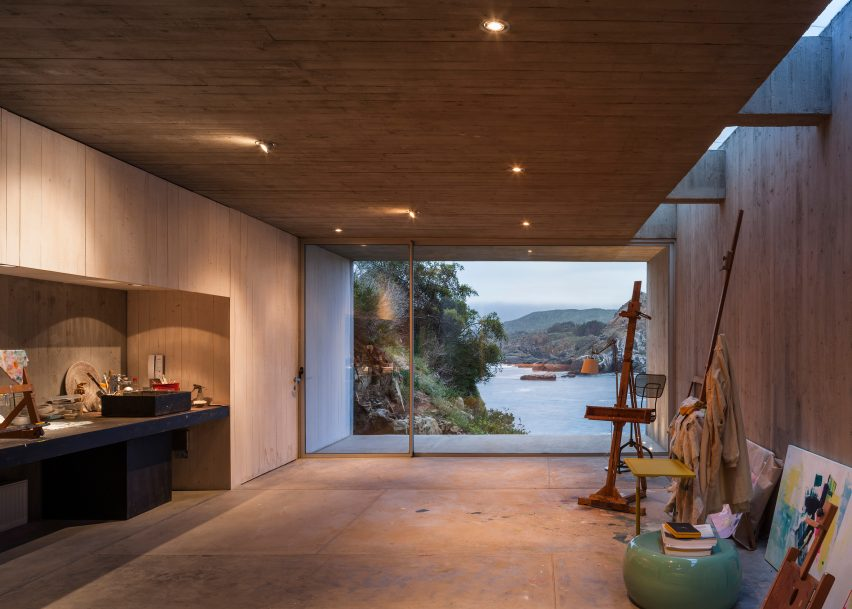 Painters Studio by Felipe Assadi