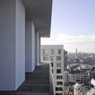 Penthouse Westkaai by Hans Verstuyft Architecten