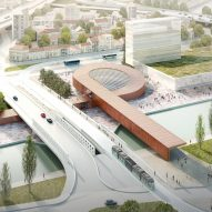 BIG wins Paris Metro competition with looping station design