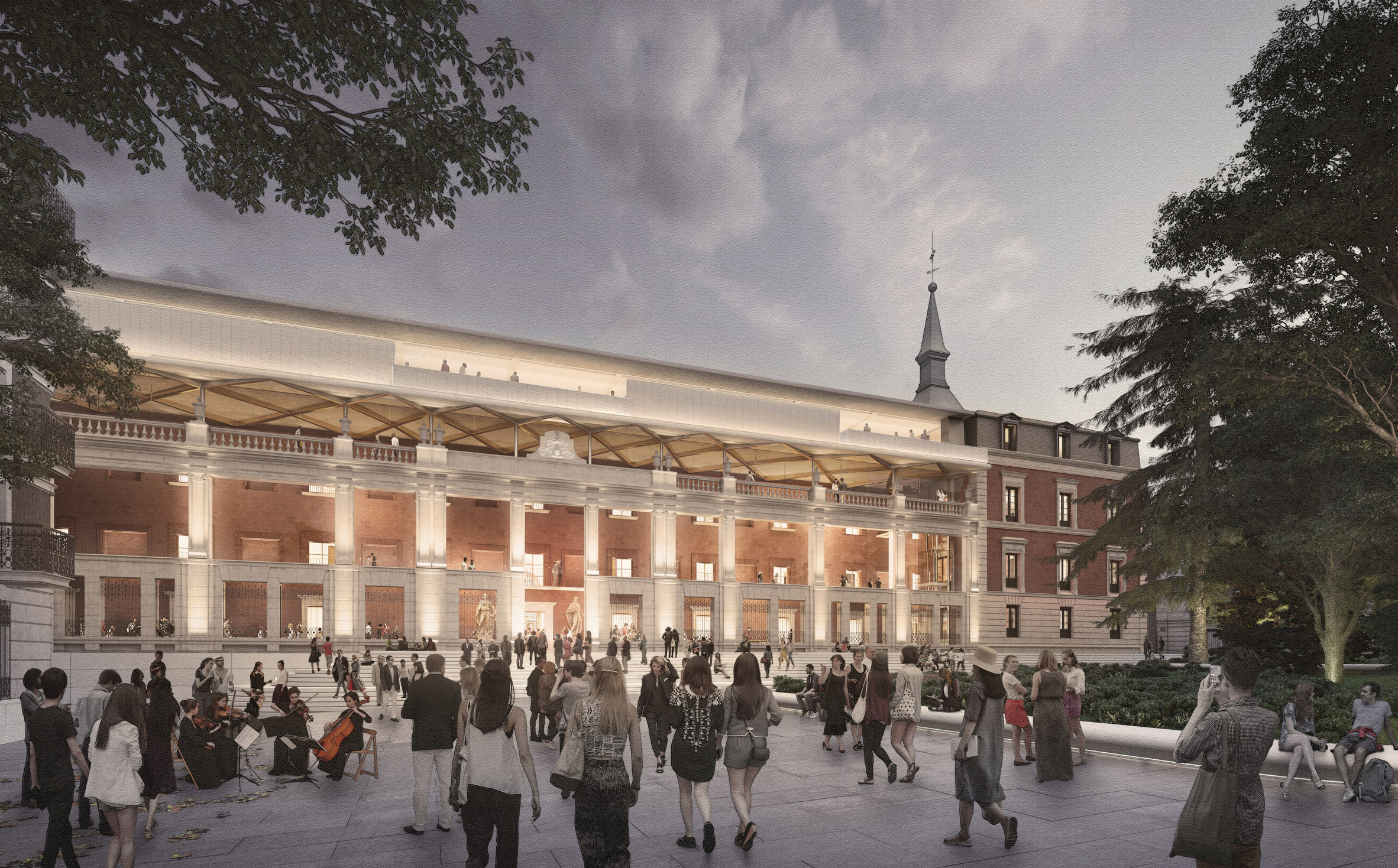 Foster + Partners and Rubio Arquitectura to extend Madrid's Museo del Prado