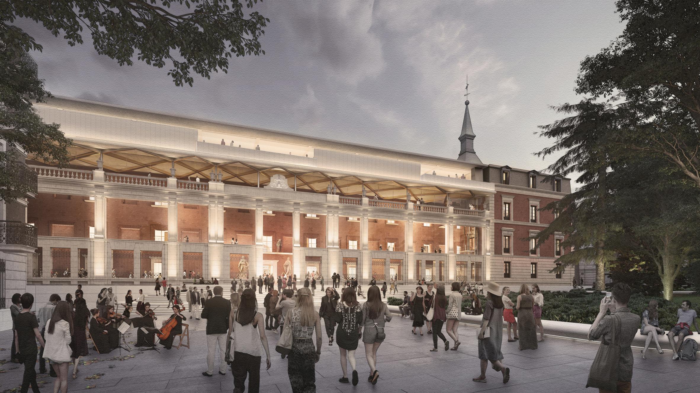 Prado Museum by Foster + Partners