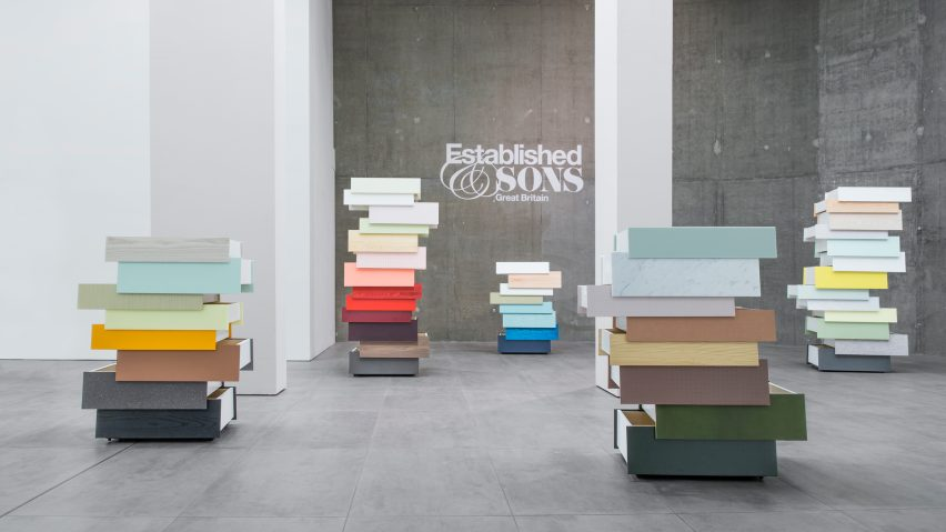Stack drawers by Raw Edges for Established & Sons