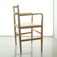 Root chair for arflex Japan by Jin Kuramoto