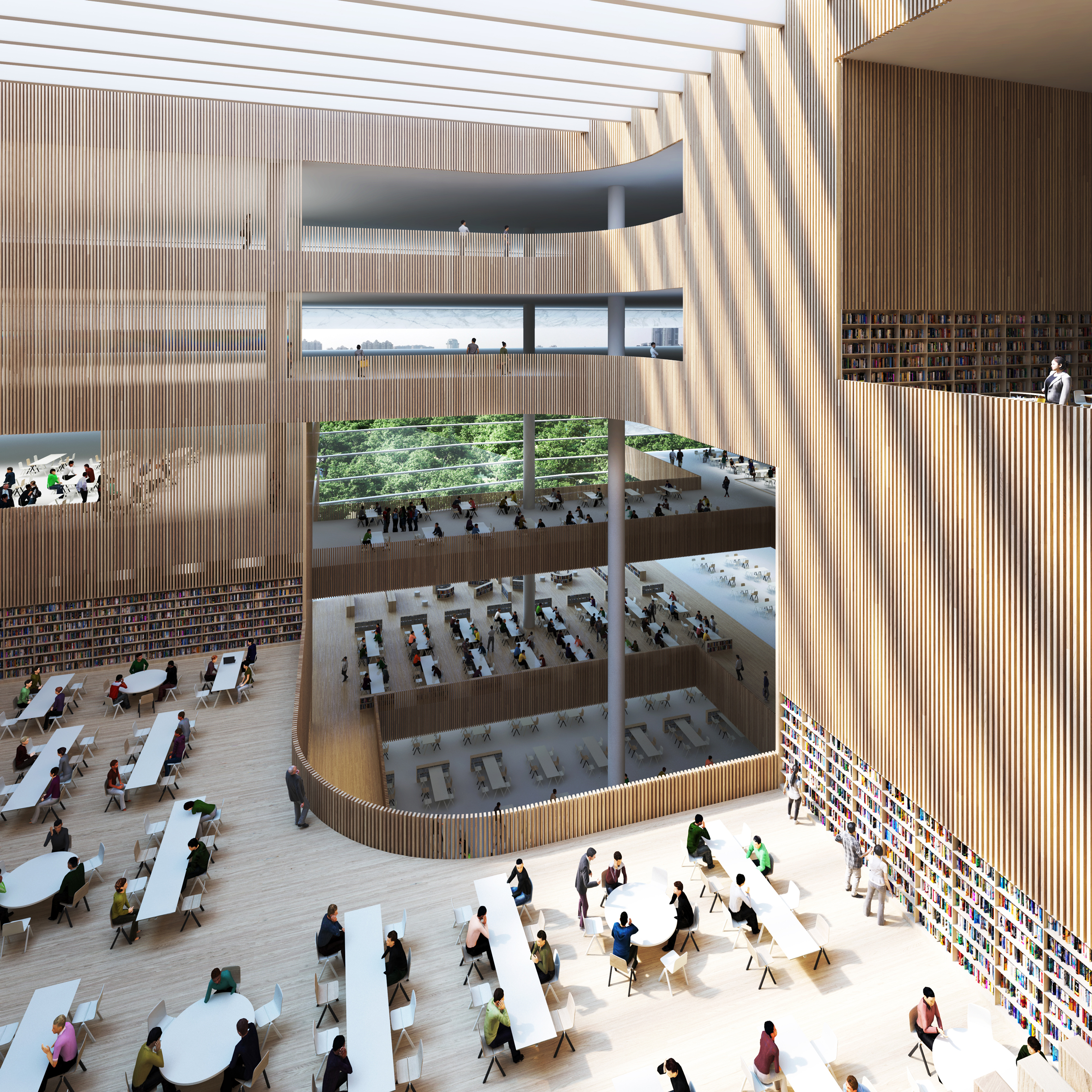 Schmidt Hammer Lassen Architects Chosen To Design Shanghais New City Library