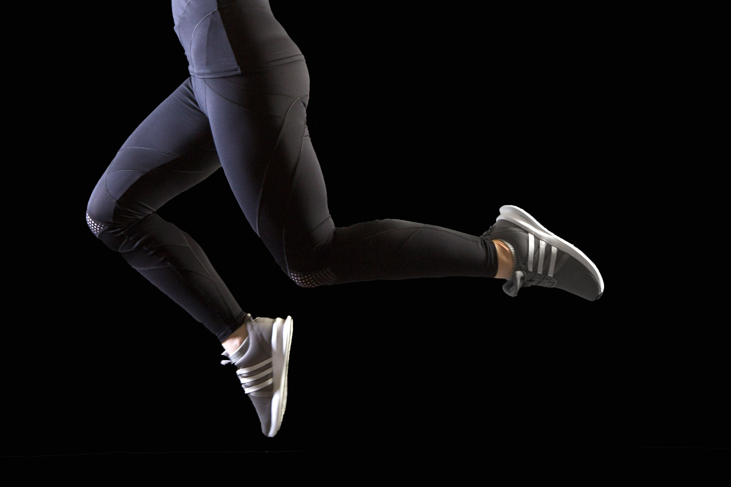 New Contour Compression activewear comes with built-in sports tape