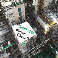 Abstracted architecture graces new covers for William Gibson's dystopian novels