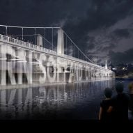 David Adjaye and Amanda Levete compete in London bridge lighting contest