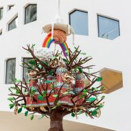 Studio Job installs Tree of Life outside OMA-designed Faena Forum