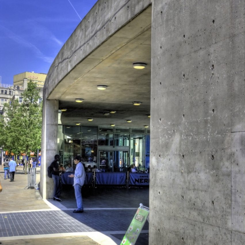 Tadao Ando Piccadilly Gardens demolition