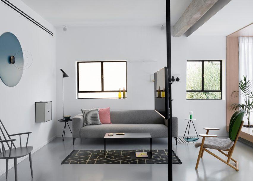 Tel Aviv apartment by Maayan Zusman