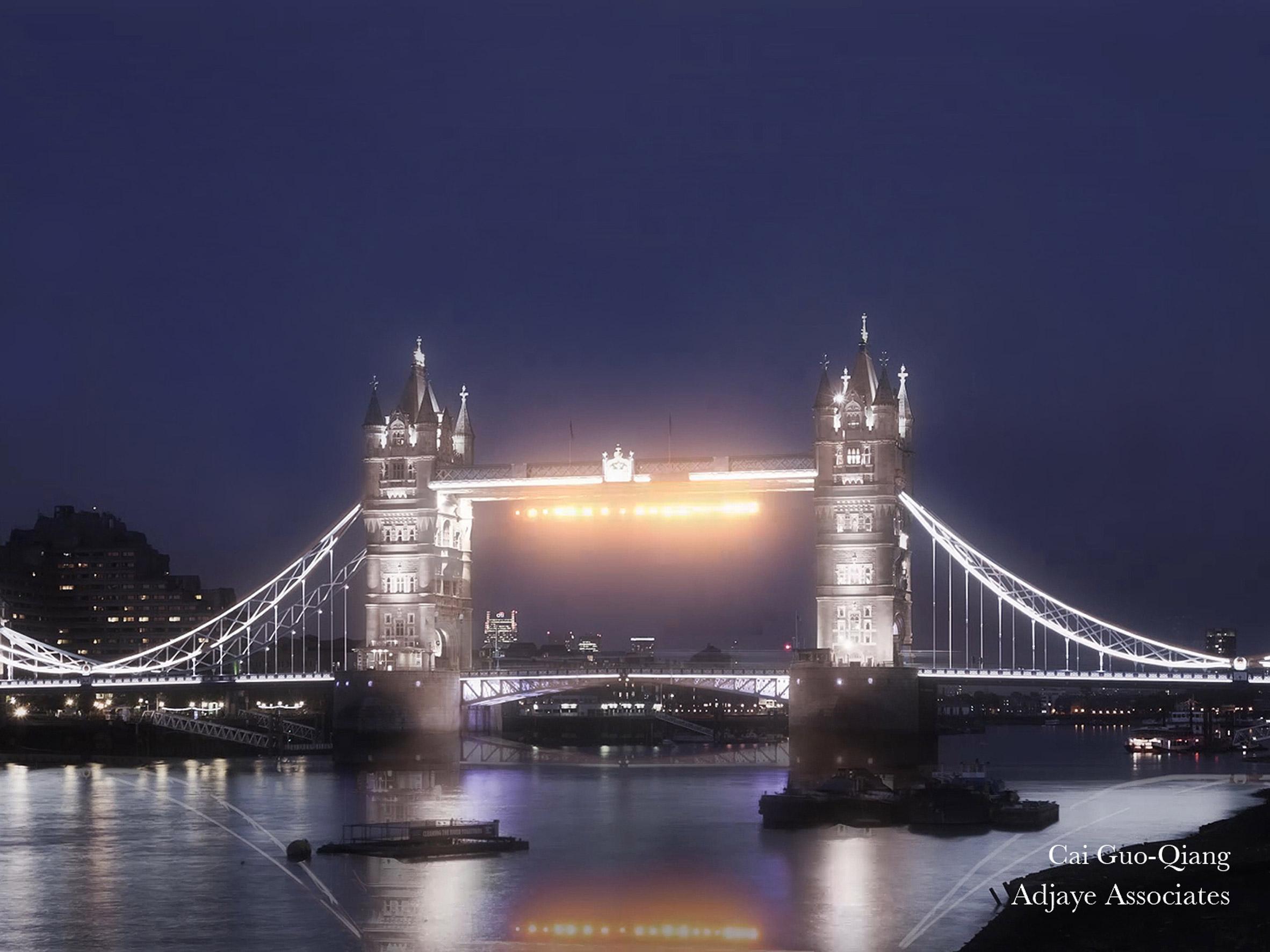 David Adjaye and Amanda Levete compete in London bridge lighting contest