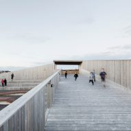 Bourgeois Lechasseur erects memorial on fish factory ruins in Quebec