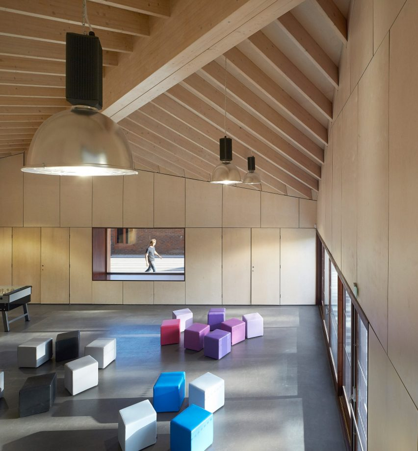 The Point New Youth Centre in Hampshire by Ayre Chamberlain Gaunt