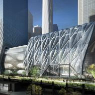 Expandable cultural venue The Shed is being built in New York