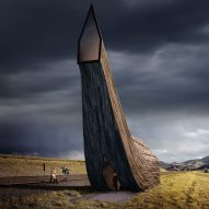 Elongated cabins by Kamvari Architects to be built along Trans-Siberian Railway