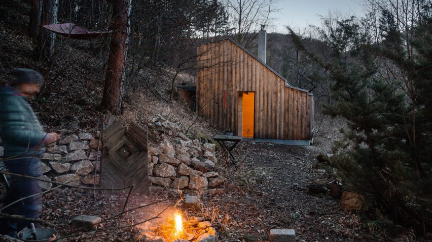 Raumhochrosen's woodland cabin in Austria provides respite for a life coach