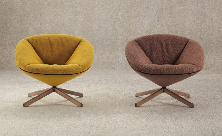 Tortuga chair by Nadadora for Sancal