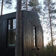 Snøhetta's charred-timber treehouse is the next addition to Sweden's Treehotel